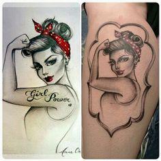 She came true,love my new tattoo