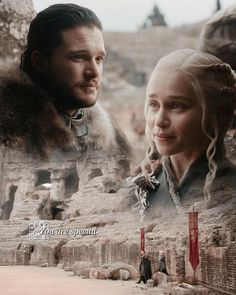 ♕ no matter what others say, these two will always be my ultimate otp ❤️ #Jonerys #GameofThrones