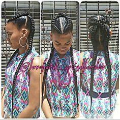 Swag Hairstyles, Kids Braided Hairstyles, Black Girls Hairstyles, Ghana Braids, Braids Wig, Jumbo Braids, Box Braids, Braids For Kids, Girls Braids
