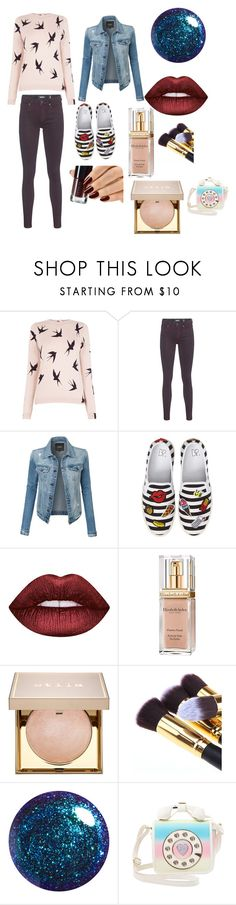 """""""Мини Штото"""" by sonyalubi ❤ liked on Polyvore featuring Oasis, TIGHA, LE3NO, BP., Lime Crime, Elizabeth Arden, Stila and Betsey Johnson"""