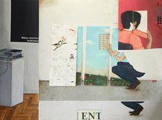 Bruno Kurru   Só se pode habitar o que se constrói  2012  acrílica e resina sobre tela  150 x 200 cm