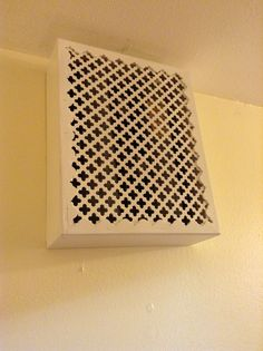Doorbell Cover That Matches New HVAC Intake Vent Cover. (Summer 2013)