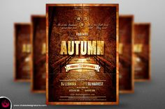 Autumn Equinox Flyer Template V1 by Thats Design Studio on Creative Market