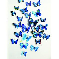 12 Pcs/Lot PVC DIY Butterfly Wall Stickers Home Decor Poster for Kitchen Bathroom Fridge Adhesive to Wall Decals Decoration 3d Butterfly Wall Decor, Diy Butterfly, Flower Wall Decals, 3d Butterfly Wall Stickers, Mirror Stickers, Wall Stickers Home Decor, Borboleta Diy, Pvc Wall, Bunt