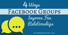 Would you like to create stronger ties with your customers? Have you thought about building a Facebook group? Today's Facebook groups offer a way to create ties with thousands of members. In this article you'll find four ways Facebook groups can help build stronger customer relationships. #1: Get Real Customer Feedback Golden Tote, started by…