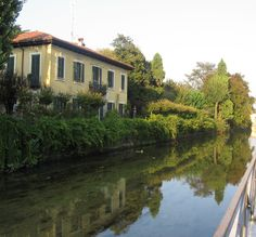 naviglio martesana, #Milan, Italy