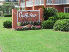 Front building of Gulfview Condominiums facing 2830 Scenic Gulf Dr., Miramar Beach, FL -- Destin area
