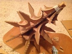 How to build the Witch King flail... (This is a WIP, but the pictures tell all, really...)
