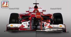 Ferrari F138 & F2012 F1 car photo comparison   F1-Fansite.com Front