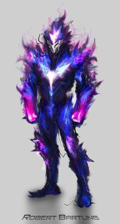 Hyper Dimensional Being by RobertDamnation on DeviantArt - Fantasy Monster Concept Art, Fantasy Monster, Monster Art, Fantasy Armor, Fantasy Weapons, Dark Fantasy Art, Fantasy Character Design, Character Design Inspiration, Character Art
