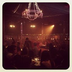 'Amazing night at the V for @Madame_Zingara. Reminiscent of @La_Soiree that I saw in London a few years ago. Bravo!'