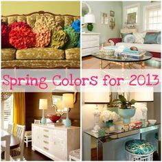Spring Colors for 2013