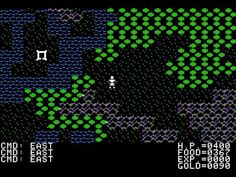 Ultima II for the Apple II computer system.