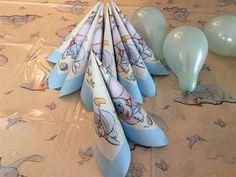 DIY brette servietter til konfirmasjonen, enkelt seil, dobbelt storseil, serviettholder og mer.