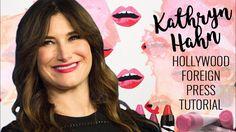 KATHRYN HAHN l 2017 Hollywood Foreign Press Tutorial