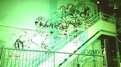 Night lights influence on street art in Paris