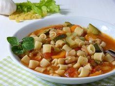 Zuppa di fagioli - Italienische Bohnensuppe
