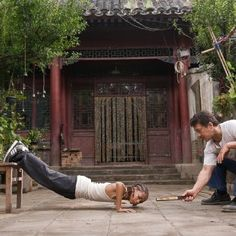 Jackie Chan and Jaden Smith in The Karate Kid Karate Kid 2010, Karate Kid Movie, Karate Kid Jaden Smith, The Best Films, Celebrity Kids, Jackie Chan, Movie Photo, Movies Showing, Film Movie