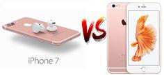 #iPhone7 vs #iPhone6S la comparativa obligada. ¿Vale la pena cambiar mi iPhone 6s por el iPhone 7? ¿Cuál me compro el iPhone 6s o el iPhone 7?