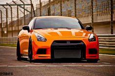 Orange GTR what a beauty.