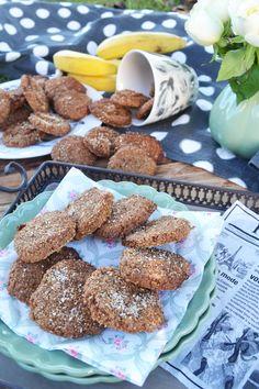 Es ist ja kein Geheimnis, dass ich Kekse liebe. Mit Schokistückchen, Orangenabrieb und meinen geliebten Pekannüssen hab ich meine Cookies fast am Liebsten. Aber auch mit zerdrückten Bananen, saftig…