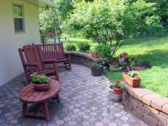 A simple yet beautiful #patio option in #CentralOhio