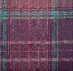 tartan plaid purple wool curtain and upholstery fabric - Iona Purple Ling Plaid Modern Upholstery Fabric, Living Room Upholstery, Upholstery Repair, Upholstery Tacks, Upholstery Cushions, Furniture Upholstery, Upholstery Cleaning, Tartan Curtains, Fabric Canada