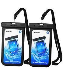 Note: 1. Phones with large Otter Box are not recommended in this bag! 2. Cell Phone may suffer hydraulic pressure under certain water depth, which will impact the operation of the touchscreen. Please take photos by volume buttons in this case. 3. Easy to operate the touch screen functions, but not for touch ID fingerprint. 4. Waterproof bag inside the Fog is a normal phenomenon.
