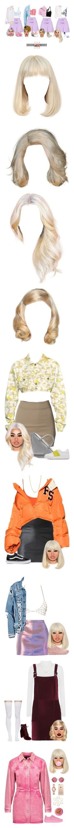 """Angelica"" by flaaaawless81 ❤ liked on Polyvore featuring La Perla, River Island, Boohoo, Moschino, Miu Miu, Balmain, Lime Crime, Gianmarco Lorenzi, UNIF and hair"