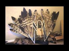 The Crooked Feather pneumatic articulating wings - YouTube