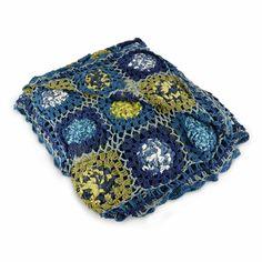 Winter Blues Crochet Blanket