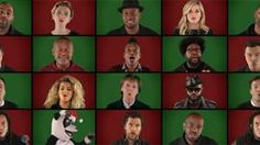 WATCH: Celebs sing an a cappella Christmas tune to get you in the festive mood