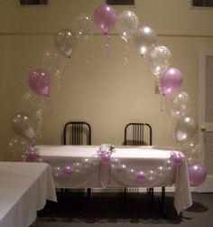 1000 images about string of pearls balloon art on for Balloon string decorations