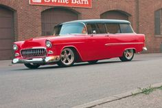 08 Sroy Runner Up 1955 Chevrolet Handyman Sampson - Provided by Hotrod 1955 Chevy, 1955 Chevrolet, Chevy Classic, Classic Cars, Chevy Nomad, Car Station, American Muscle Cars, Street Rods, Custom Cars