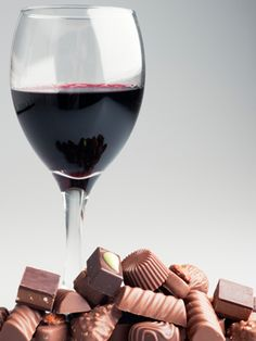 Chocolate wine? Must try it!