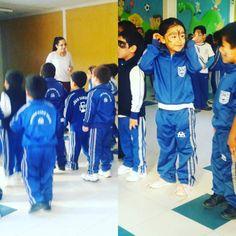Alumnos de prekinder realizan actividad de baile entretenido por el día de la convivencia escolar junto a sus profesoras. #CDSHumanista #HumanistaChillán #DarioSalas #Chillán