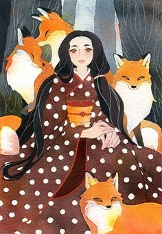 Tweets con contenido multimedia de Riikka Auvinen (@RiikkaPaints)   Twitter Pretty Art, Cute Art, Watercolor Illustration, Watercolor Art, Sketchbook Inspiration, Character Design Inspiration, Cool Artwork, Cute Drawings, Art Inspo