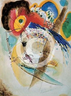 """■Wassily Kandinsky - """"Exotic Birds"""", 1915 (Moscow, Russia, The State Tretjakov Gallery)"""