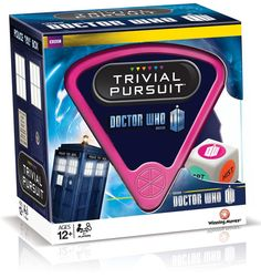 Doctor Who 50th Anniversary Trivial Pursuit...NEED IT!!!!!!!!!!!!