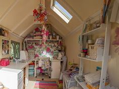 If only my craft shed were like this I'd be more inspired