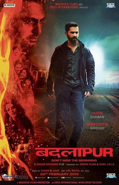 Badlapur 2015 Hindi 720p DVDRip 1GB   Hit Movies 2