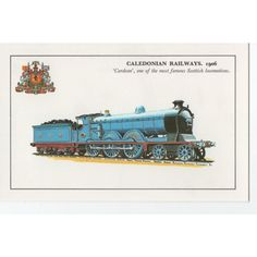Colourmaster Caledonian Railways 1906 Cardean one of the Famous Scottish Loco's Listing in the Rail,Transportation,Postcards,Collectables Category on eBid United Kingdom | 142726644