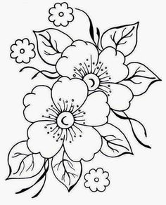 Grand Sewing Embroidery Designs At Home Ideas. Beauteous Finished Sewing Embroidery Designs At Home Ideas. Embroidery Flowers Pattern, Crewel Embroidery, Hand Embroidery Designs, Vintage Embroidery, Floral Embroidery, Flower Patterns, Machine Embroidery, Japanese Embroidery, Embroidery Dress