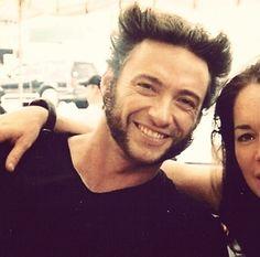 Hugh Jackman aka Wolverine.
