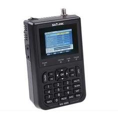 "Asli satlink 6906 satellite finder ""dvb-s fta digital satellite meter ws 6906 satlink 6906 Les Satellites, Free To Air, Satellite Dish, Watches For Men, Men's Watches, Consumer Electronics, Digital, Televisions, Metre"