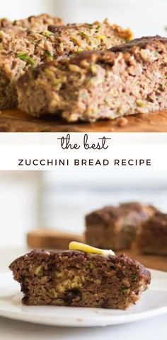 Do you have a lot of fresh zucchini coming in from the garden right now? This gluten-free zucchini bread recipe is absolutely delicious, easy to make, and healthy. It is moist and the best way to use up all that zucchini that is in season right now. #zucchinibread #quickbread #glutenfreebread #paleo #whole30 Gluten Free Zucchini Bread, Best Zucchini Bread, Zucchini Bread Recipes, Paleo Recipes, Whole Food Recipes, Snack Recipes, Easy Clean Eating Recipes, Best Breakfast Recipes, Whole30