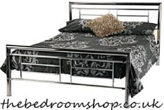 Metro Metal Bed Frame from