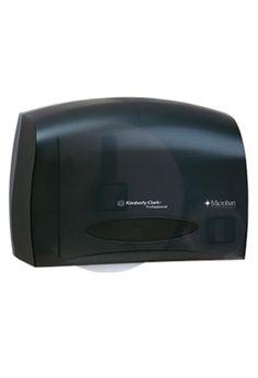 JRT Bath Tissue Dispenser: JRT Coreless Bath Tissue Dispenser With MICROBAN  Technology.