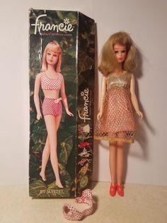 Dihann Carroll Admires Her Julia Doll From Mattel The First