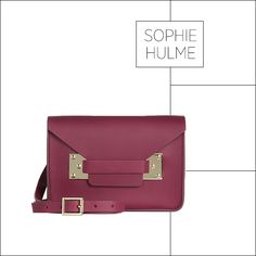 50 Showstopping Fall 2013 Bags: Sophie Hulme bag, $445, net-a-porter.com.